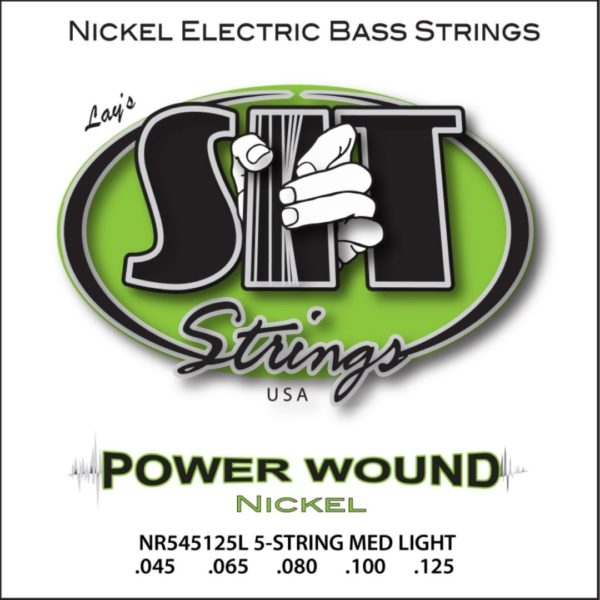 SIT NR545125L POWER WOUND 5-STRING LIGHT NICKEL BASS