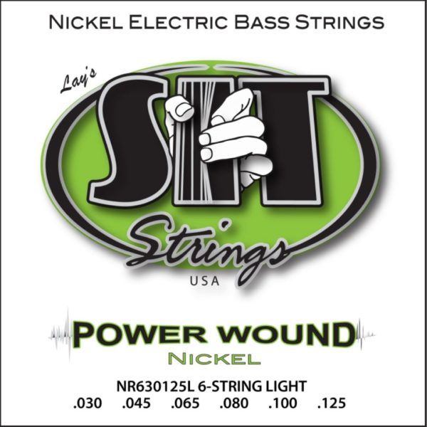 SIT NR630125L 6-STRING LIGHT POWER WOUND NICKEL BASS