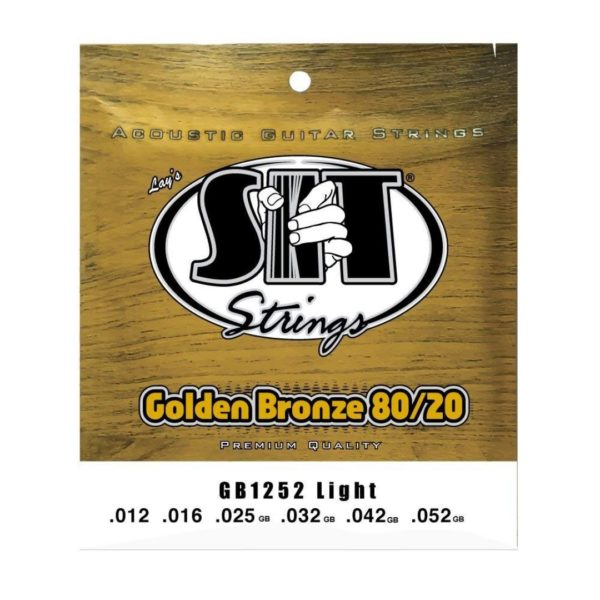 SIT GB1252 LIGHT GOLDEN BRONZE 80/20 ACOUSTIC