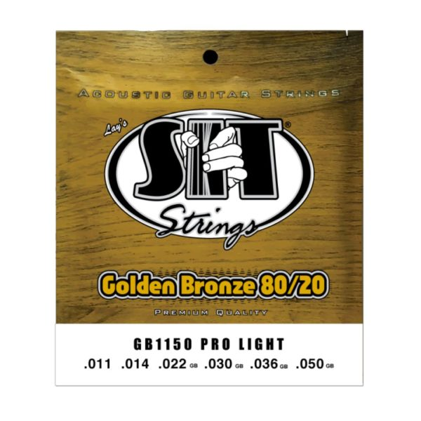SIT GB1150 PRO LIGHT GOLDEN BRONZE 80/20 ACOUSTIC