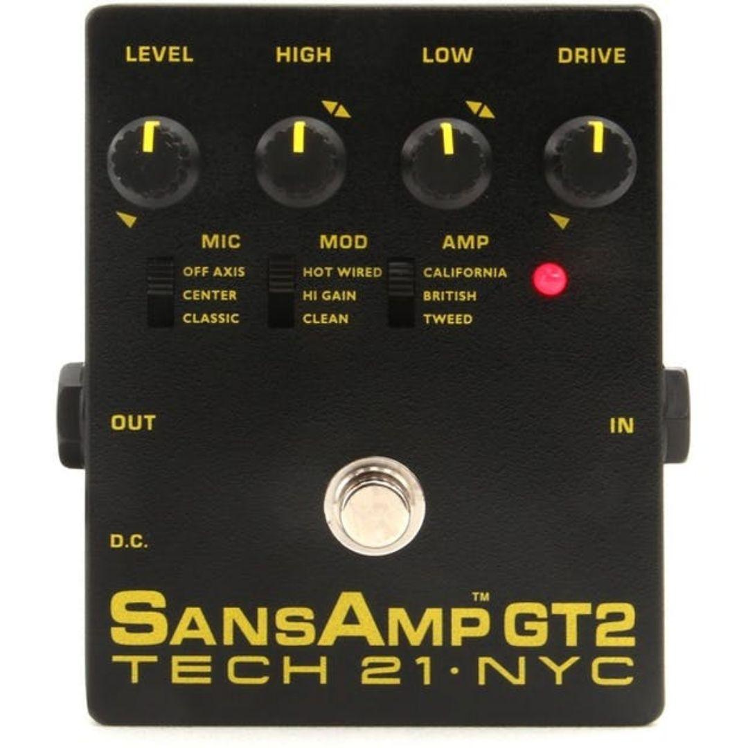 Tech 21 SansAmp GT2 Tube Amp