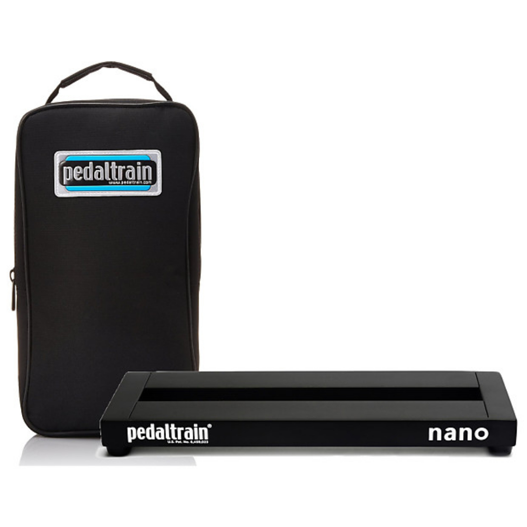"""PedalTrain PT-NANO-SC Nano Pedalboard With Soft Case 14/"""" x 5.5/"""""""