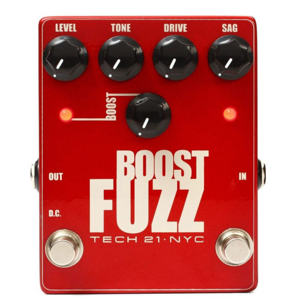 Tech 21 Boost Fuzz Metallic Fuzz Pedal