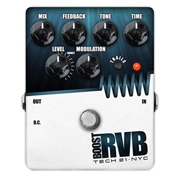 Tech 21 Reverb Pedal with Boost