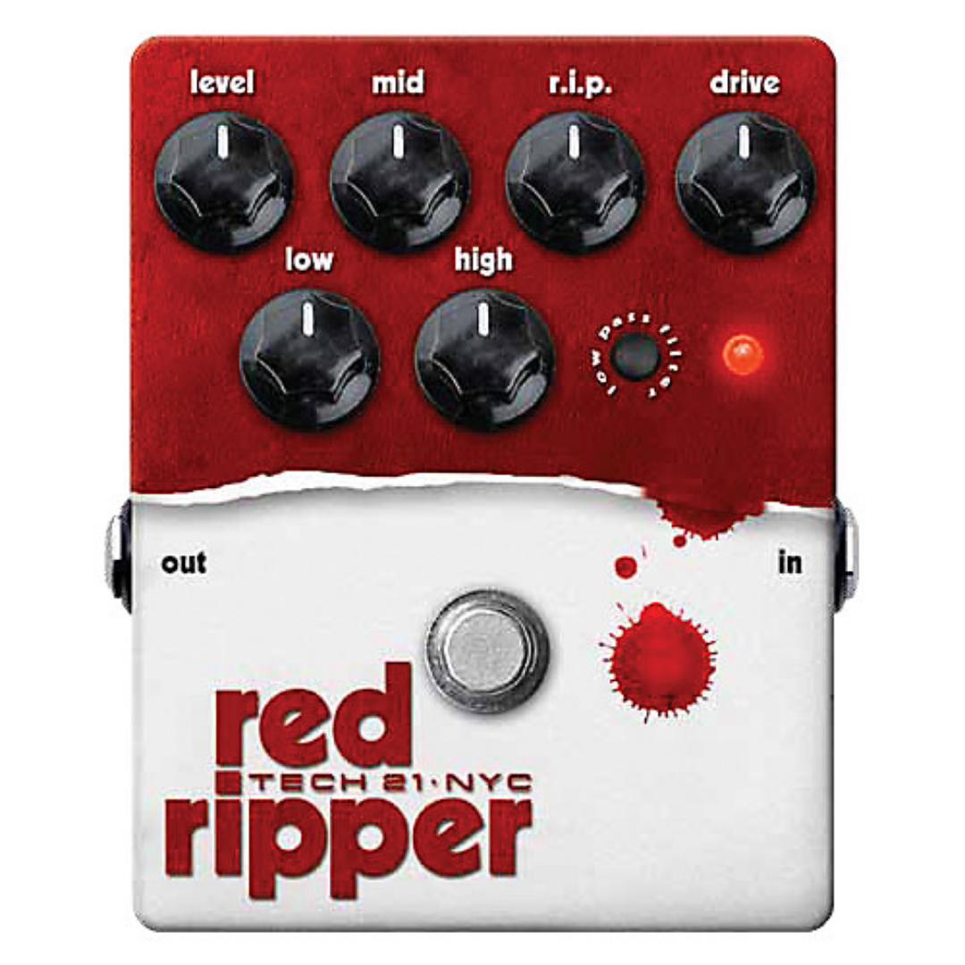 Tech 21 Red Ripper Bass Fuzz Pedal