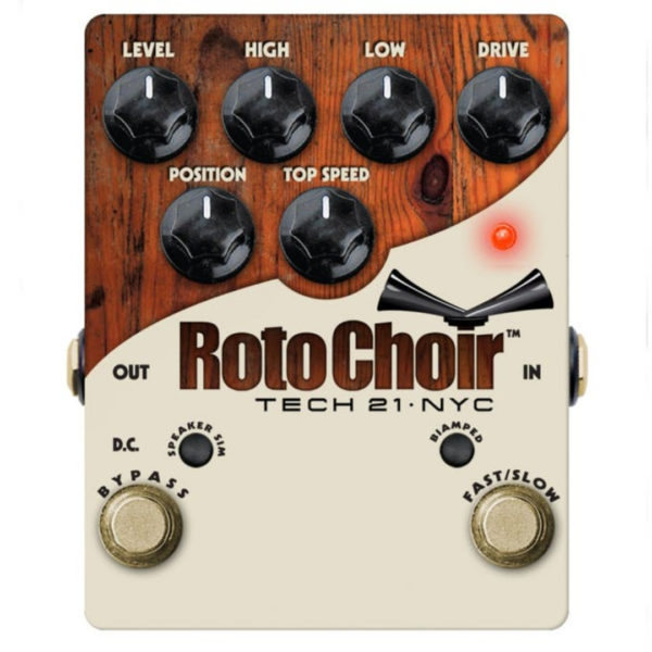 Tech 21 Roto Choir Rotary Speaker Emulator Pedal